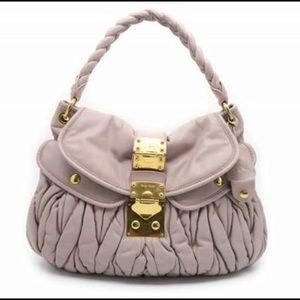 Miu Miu Matelasse Lux Calfskin Leather Bag